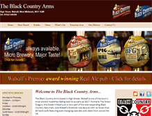 Tablet Preview of blackcountryarms.co.uk